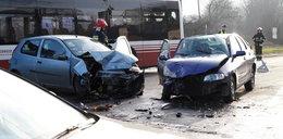Zderzenie dwóch aut w Opolu