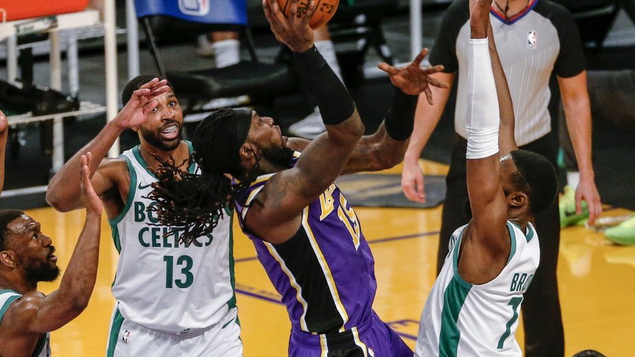 Mecz Los Angeles Lakers - Boston Celtics, 16.04.2021 r.