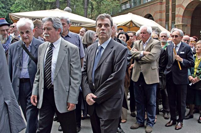 Slobodan Samardžić, Vojislav Koštunica, Miroslav Mišković...
