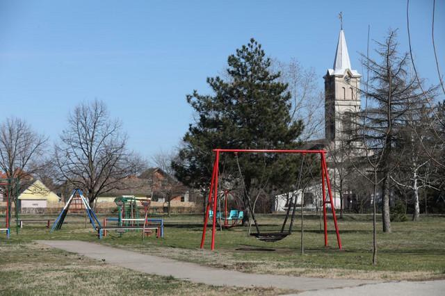 Prazan park u Glogonju