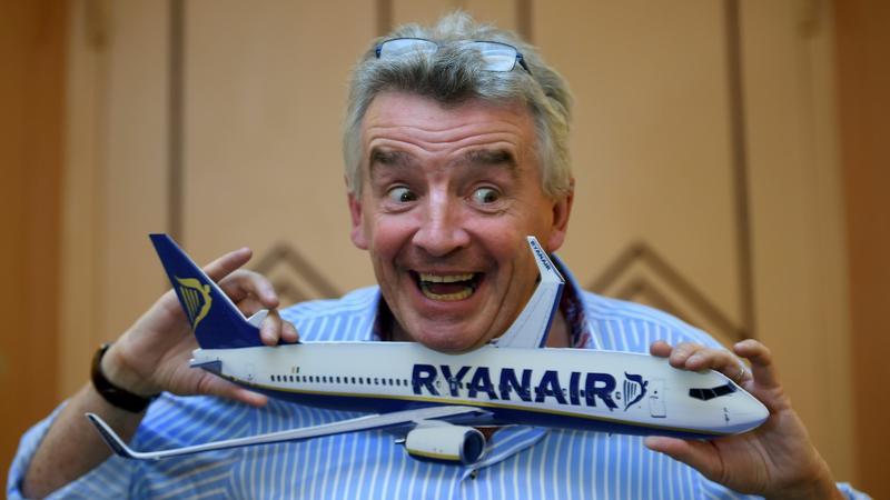 Michael O'Leary, kontrowersyjny prezes linii Ryanair