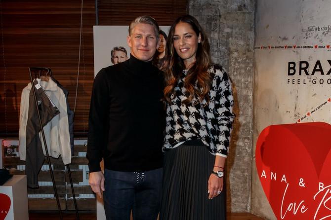 Ana Ivanović i Bastijan Švajnštajger nedavno u Berlinu