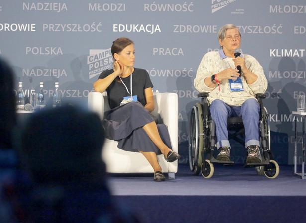 Zuzanna Rudzińska-Bluszcz, Janina Ochojska