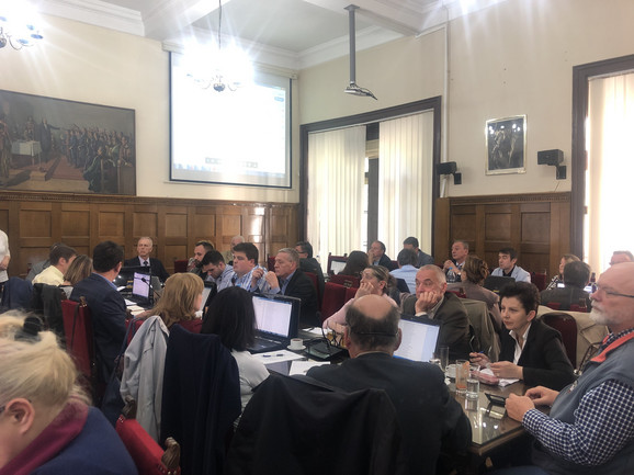 Sa današnje sednice Senata Univerziteta u Beogradu