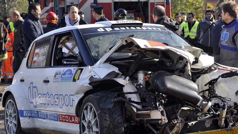 Auto Kubicy po wypadku