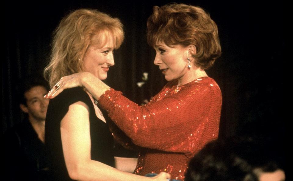 """Suzanne i Doris, """"Pocztówki znad krawędzi"""", reż. Mike Nichols, 1990 r."""
