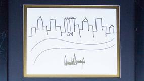Szkic autorstwa Donalda Trumpa sprzedany za prawie 30 tys. dol.