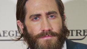 Jake Gyllenhaal chowa się za brodą