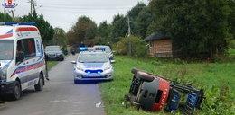 Straszna śmierć młodego mężczyzny w Bereżnicy. Zginął przez wózek widłowy