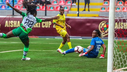 Nigeria lost to South Africa in the final game of the Aisha Buhari Cup