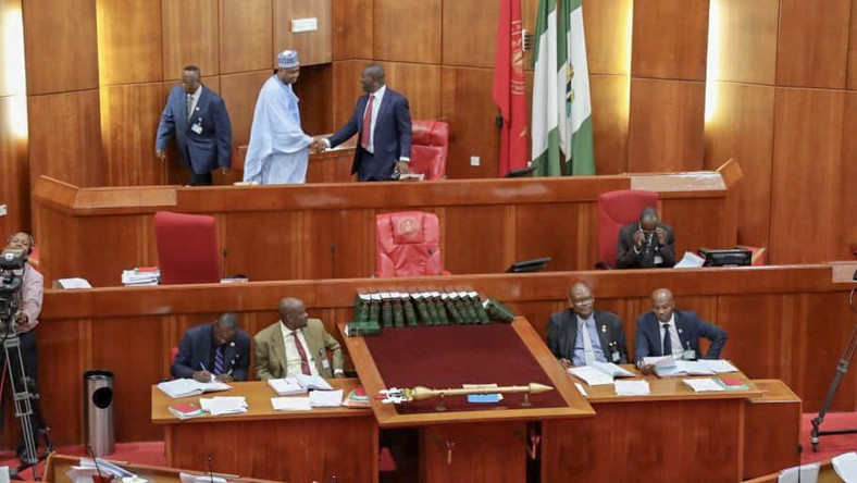 The National Assembly has introduced stringent conditions for journalists' accreditation for coverage of the 9th assembly [Twitter/@Bukolasaraki