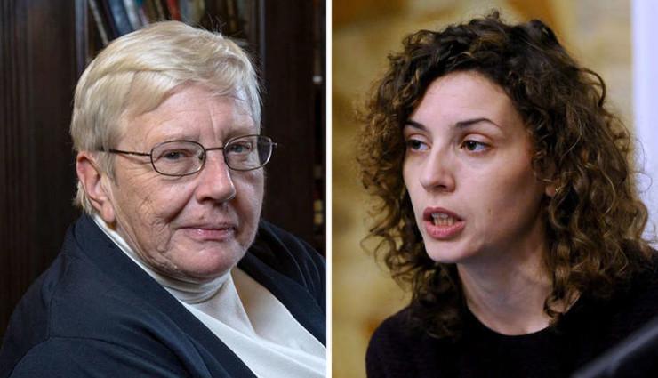 Srbijanka i Mila Turajlić kombo pokrivalica