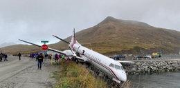Koszmarne lądowanie samolotu. Wielu rannych