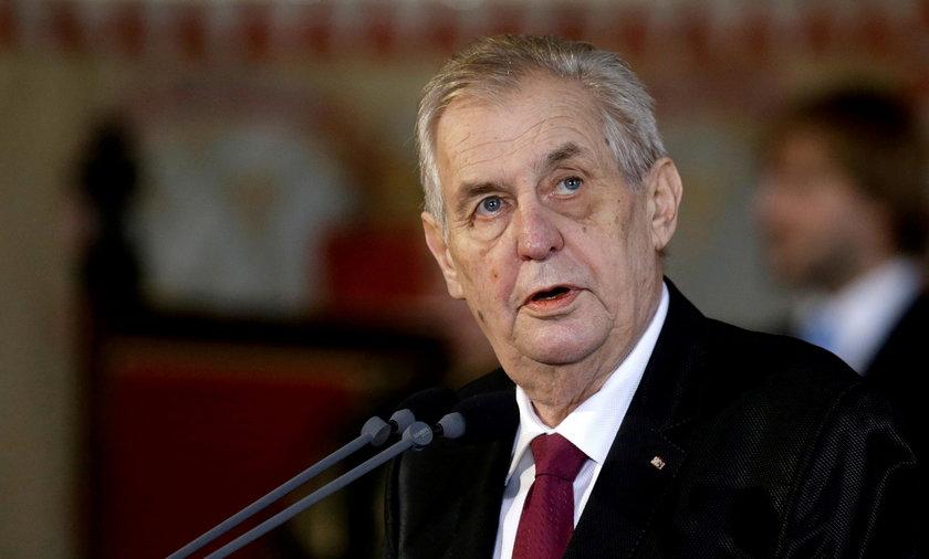 Milosz Zeman w szpitalu. Prezydent Czech jest na intensywnej terapii