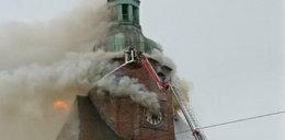 Pożar katedry w Gorzowie Wielkopolskim. Kuria broni duchownych