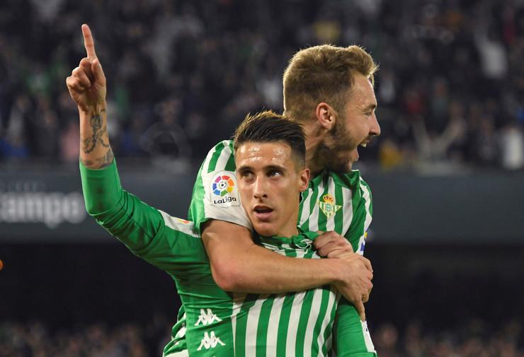 Kristijan Teljo proslavlja gol protiv Real Madrida