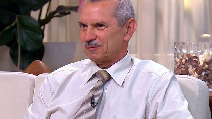 Rusvai Miklós mindenkit arra biztat: oltassa be magát, és igyekezzen teljes életet élni a nyáron / Fotó: TV2
