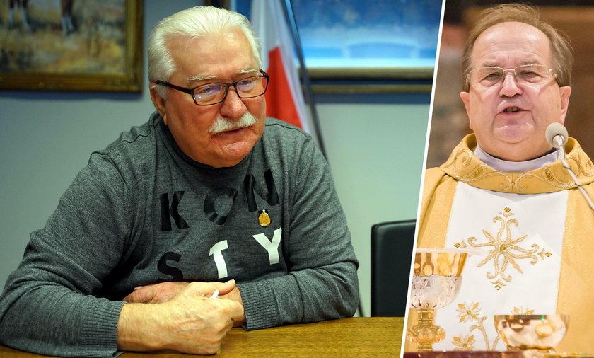 Lech Wałęsa i Tadeusz Rydzyk