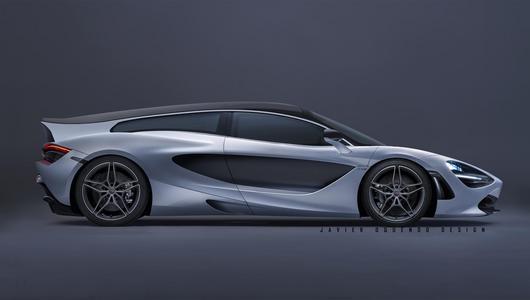 McLaren 720S w wersji Shooting Brake?
