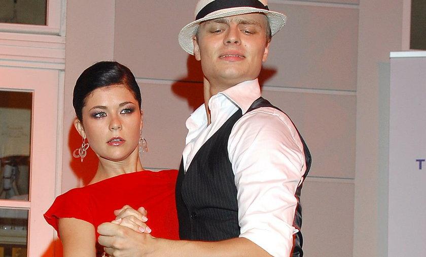 Katarzyna Cichopek i Marcin Hakiel tańczą
