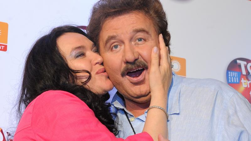 Krzysztof Krawczyk z żoną Ewą (fot. mwmedia)