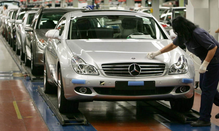 Fabryka Mercedesa w Stuttgarcie