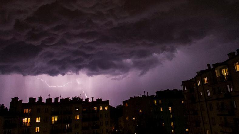 IMGW ostrzega: burze możliwe w dziewięciu województw