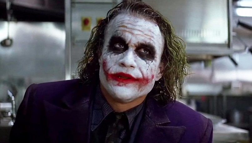 Heath Ledger Jokerként