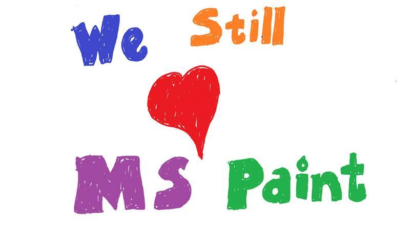 Paint wciąż będzie dostępny - Microsoft uspokaja sentymentalnych użytkowników