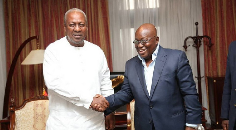 'This President is bathing in corruption' – Mahama slams Akufo-Addo
