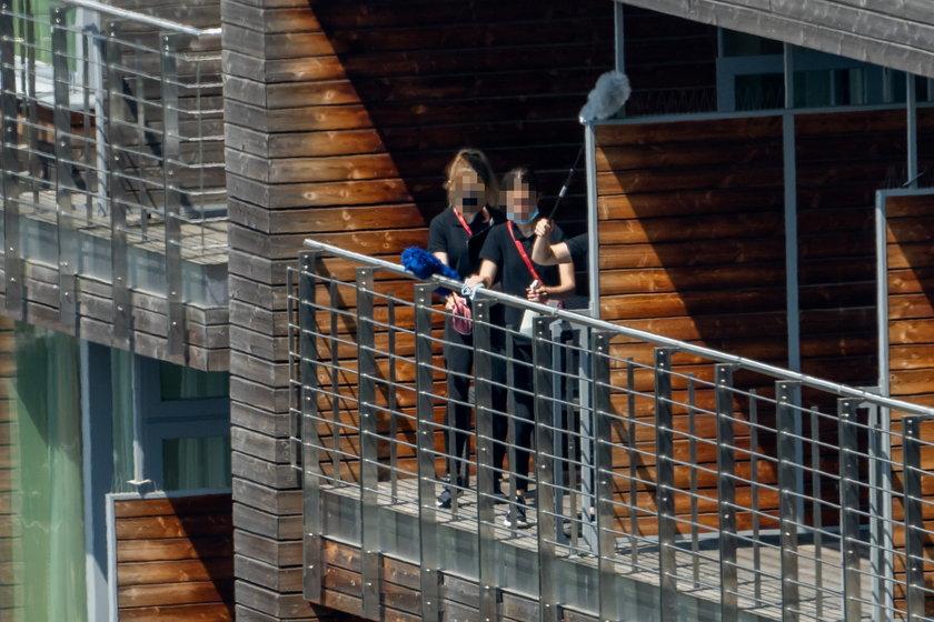Polscy piłkarze przebywają w hotelu w Sopocie