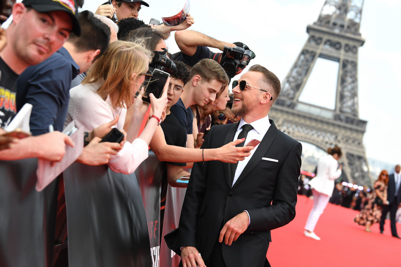 "Simon Pegg na premierze ""Mission: Impossible - Fallout"""