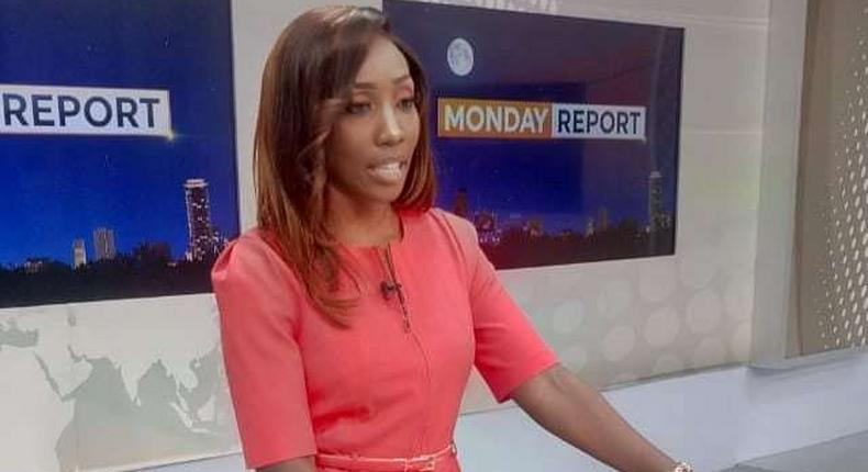 Yvonne Okwara trolled after reading the news in this condition
