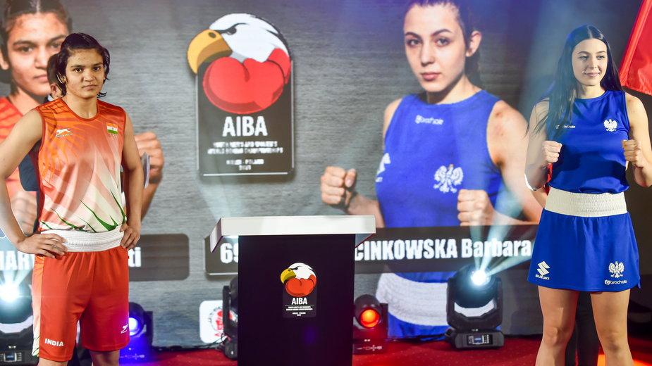 Barbara Marcinkowska i Arundhati Choudhary przed finałem MŚ