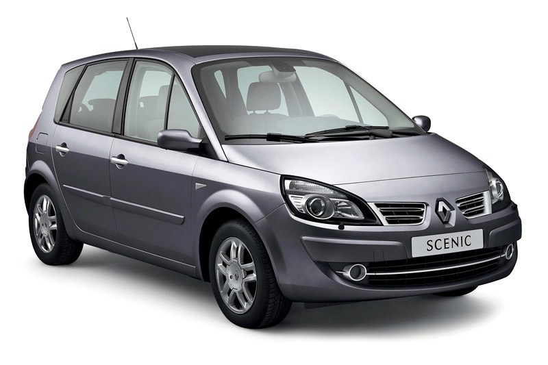 Renault Scenic: facelifting na pożegnanie