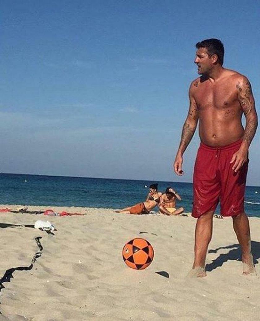 Christian Vieri wraca do gry. Piłkarska legenda zrzuciła zbędne kilogramy
