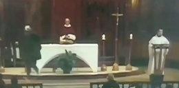 Dramat w trakcie mszy. Ksiądz zaatakowany przez nożownika