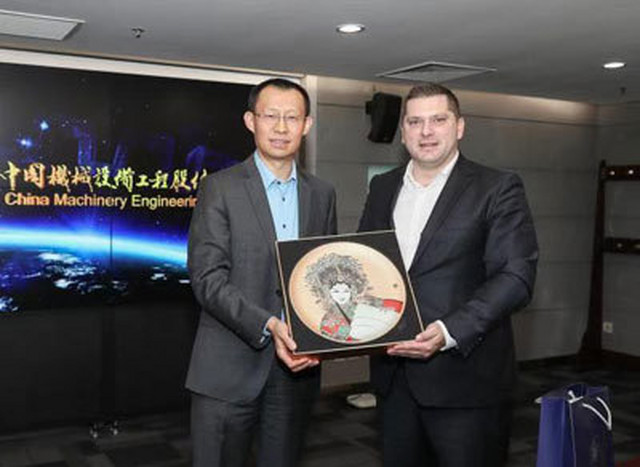 Nikodijević u poseti Kini
