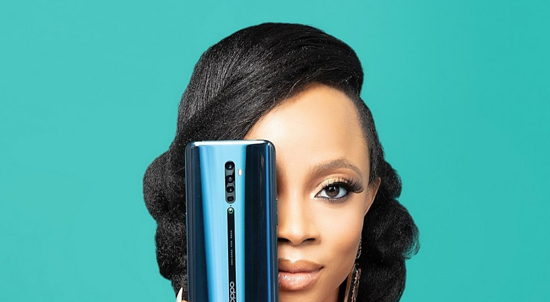 OPPO Mobile, Toke Makinwa partner to launch Reno2 Series smartphones in Nigeria