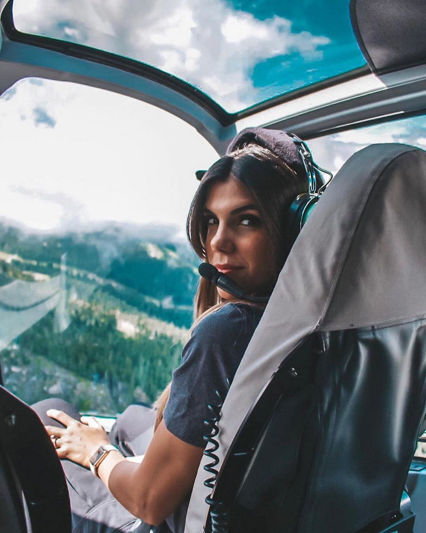 Brazylia: Marzyła, by zostać pilotem. Internauci ją pokochali