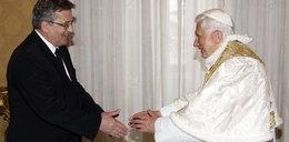 Prezydent na audiencji u papieża. FOTY
