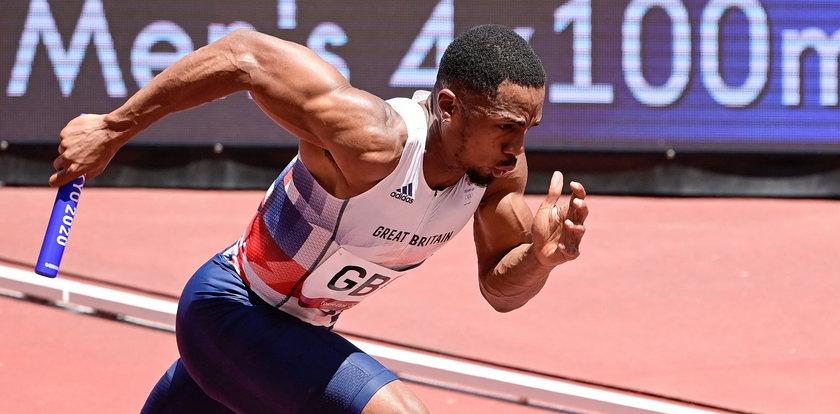 Dopingowa wpadka wicemistrza olimpijskiego! Brytyjska sztafeta najpewniej straci medal