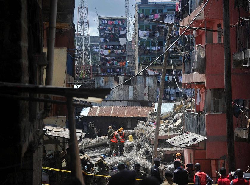 Katastrofa budowlana w Kenii
