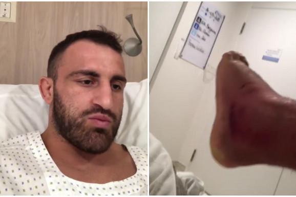 UFC borac je slavio protiv legende, činilo se da je sve u redu, a onda mu umalo AMPUTIRALI gadno otečenu nogu, a život mu VISIO o koncu /VIDEO/