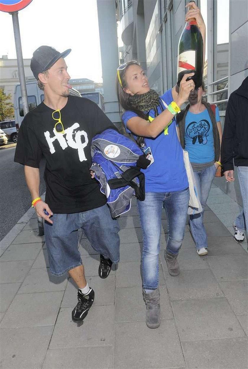 "Aktor z ""Na dobre i na złe"" to hip-hopowiec"