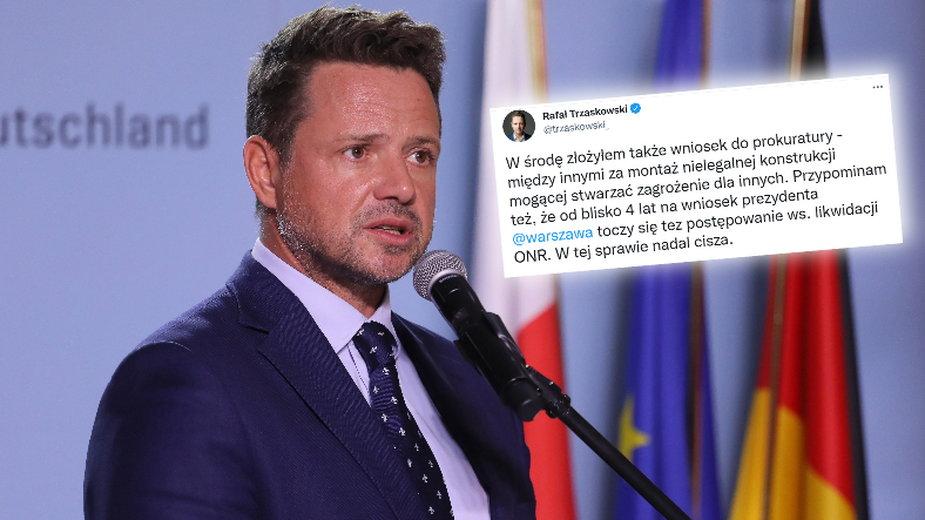 Rafał Trzaskowski złożył wniosek do prokuratury na Marsz Niepodległości