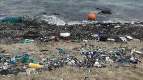 Plastikowa plaża na Hawajach