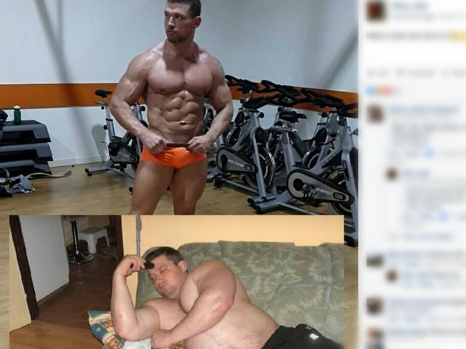 Ostavila ga je kada je imao 130 kilograma: Ona se sada JEDE OD MUKE jer je on kao ZMAJ