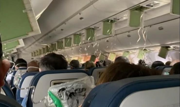 panika u avionu ka Floridi