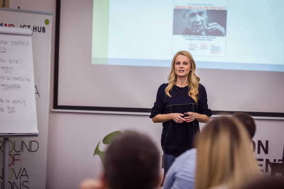 Sandra Nešić, programska direktorka ICT Hub
